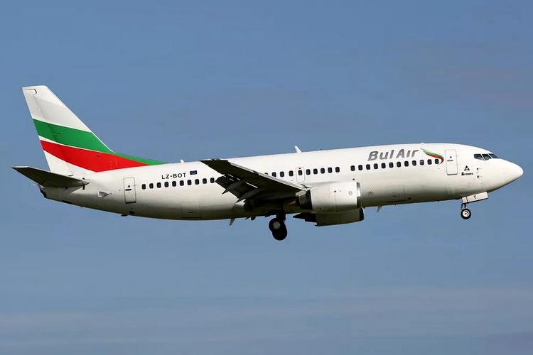 самолет bul air